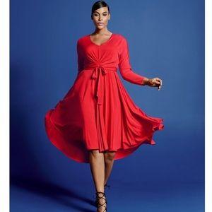 Isabel Toledo Stunning Red Dress